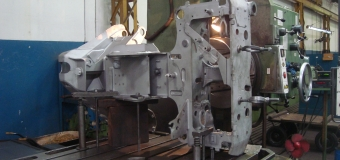 Cabeçote Log Max Modelo 7000 B - Chassi em Usinagem
